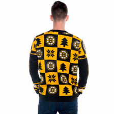 Boston Bruins Ugly Christmas Sweater NHL 2016 (Back)
