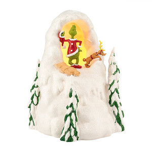 Department 56 The Grinch Mount Crumpet Christmas Village