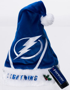 Tampa Bay Lightning Plush Santa Hat