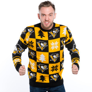 Pittsburgh Penguins Ugly Christmas Sweater NHL 2016 Design