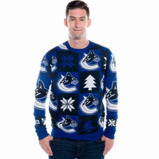 Vancouver Canucks Ugly Christmas Sweater 2016 (Front)