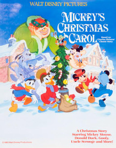 Mickey's Christmas Carol 1983 Movie Poster
