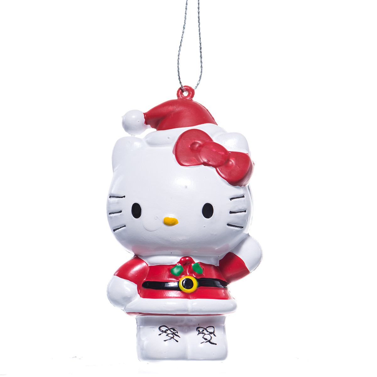 Santa Hello Kitty Christmas Ornament