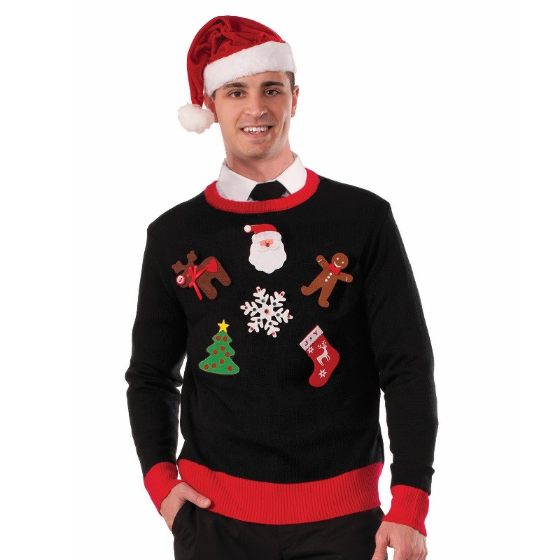 Ugly christmas sweater diy kit retrofestive ugly christmas sweater do it yourself kit solutioingenieria Gallery