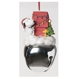 Snoopy and Woodstock Jingle Bell Ornament