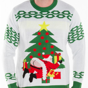 Butt Crack Santa - Ugly Christmas Sweater