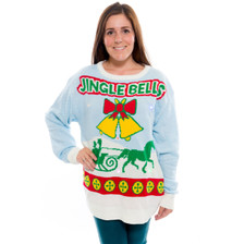 Jingle Bells Sweater with Lights and Sound on Her