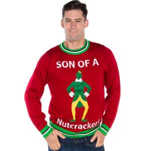 Son of a Nutcracker Ugly Sweater by Festified