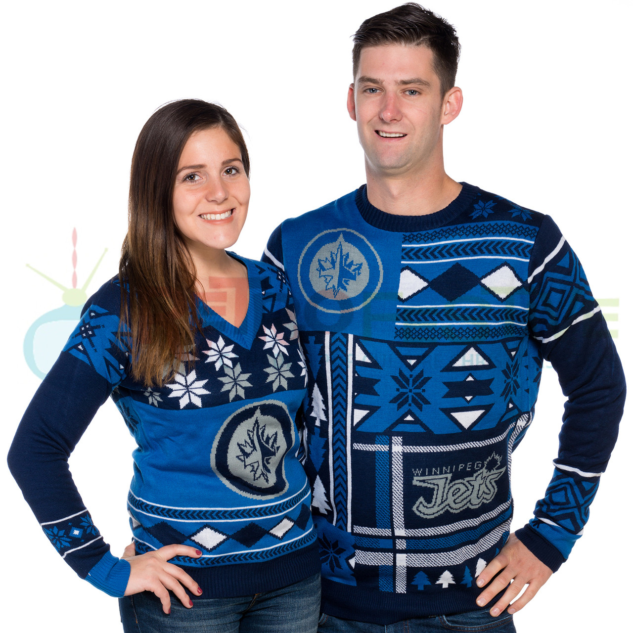 Jets Ugly Christmas Sweater - Ladies Sweater Patterns