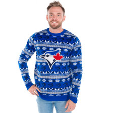 Tacky Blue Jays Sweater Big Logo