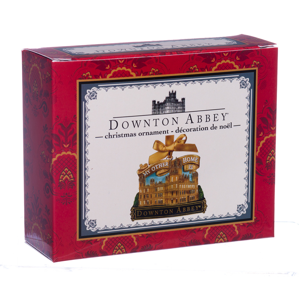 My Other Home Is Downton Abbey - Christmas Ornament - RetroFestive.ca