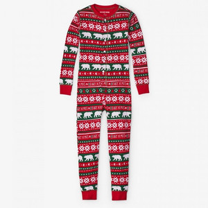Beary Xmas Kids Christmas Jammies by Hatley Front