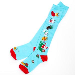 Jingle Cats Women's Christmas Knee-High Socks by Hatley