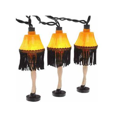 Leg Lamp String Lights : Leg Lamp String of Lights - Leg Lamps in Canada RetroFestive.ca