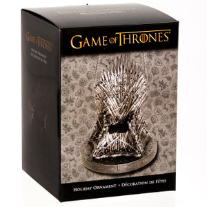 Game of Thrones Ornament - The Throne in Box