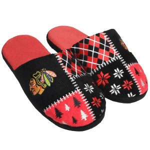 Chicago Blackhawks Ugly Slippers