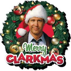 Merry Clarkmas Chunky Fridge magnet