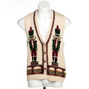 Nutcracker Prince Vintage Ugly Christmas Sweater