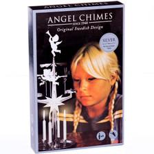 Original Swedish Angel Chimes Silver