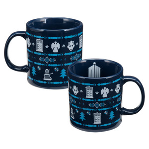 Doctor Who Ugly Sweater Mug