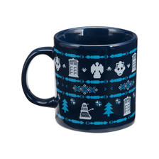 Doctor Who Ugly Sweater Mug back