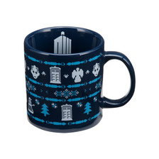 Doctor Who Ugly Sweater Mug Front