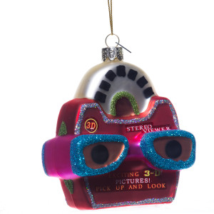 ViewMaster Retro Christmas Ornament