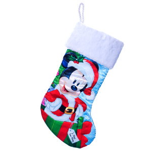 Santa Mickey Mouse Christmas Stocking