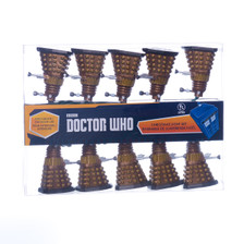 Doctor Who Dalek Christmas Lights Bronze
