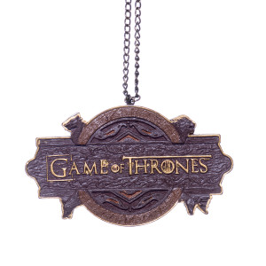 Game of Thrones Sign Christmas Decoration