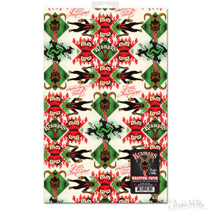 Krampus Christmas Wrapping Paper