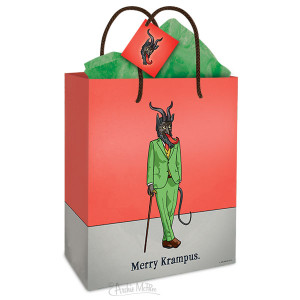 Krampus Christmas Gift Bag