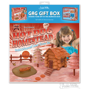 Hot Dog Homestead Gag Gift Box
