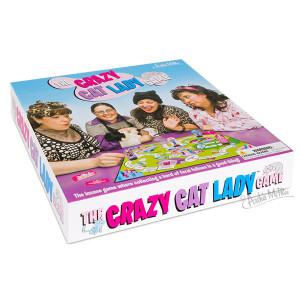Crazy Cat Lady Board Game box