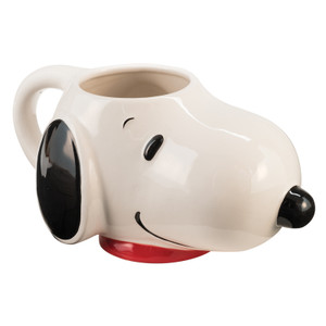 Sculpted Snoopy Mug