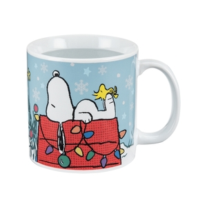 Peanuts 20 oz Heat Reactive Ceramic Mug Front