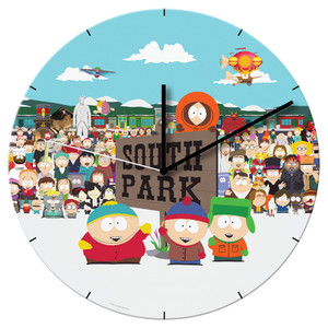 South Park Cordless Wall Clock