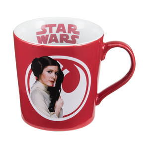 Star Wars Princess Leia 12 oz. Ceramic Mug Front