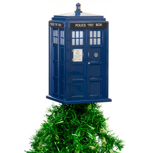 Doctor Who Tardis Tree Topper with LED light
