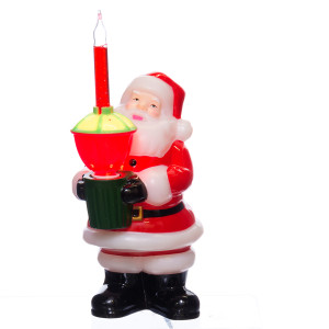 Santa Bubble Light Vintage Christmas Decoration