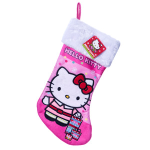 Hello Kitty Pink Christmas Stocking