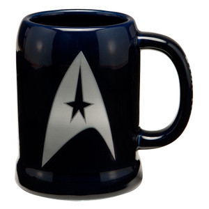Star Trek 20 oz. Ceramic Stein Front