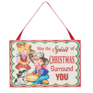 May the Spirit of Christmas Surround You Ornament