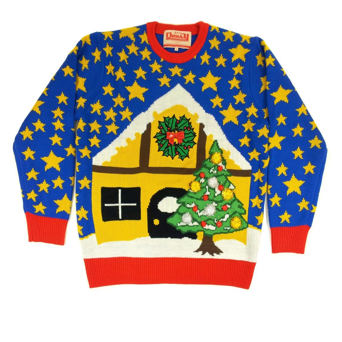 Cheesy christmas sweater