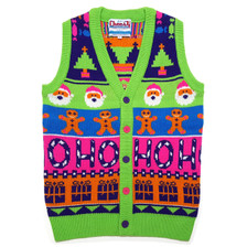 Sweet Mashup Sweater Vest Flat