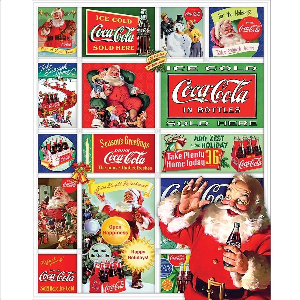 Santa's Coca-Cola Christmas 1500 Piece Puzzle