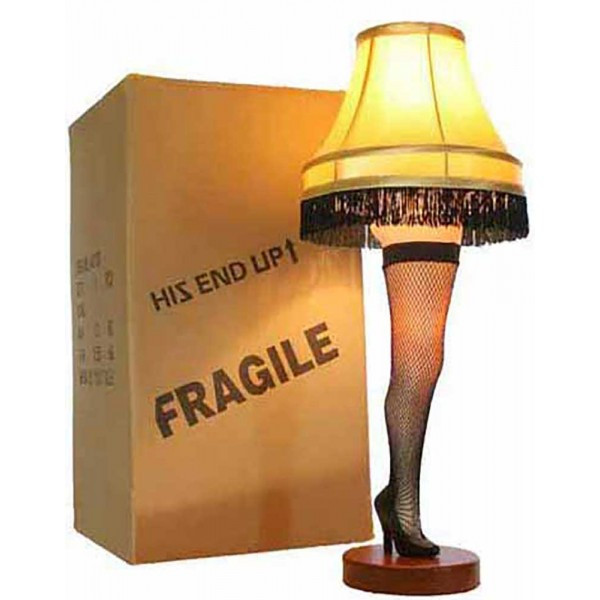 A Christmas Story Movie Fun Leg Lamp Cookie Cutter Great for themed  parties. #achristmasstory