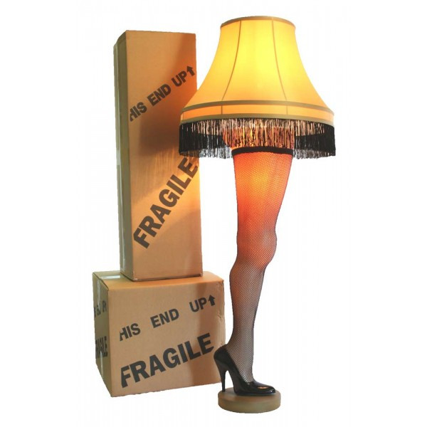 Christmas Story Leg Lamp in Canada   RetroFestive.ca