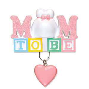 Mom to Be Personalized Ornament