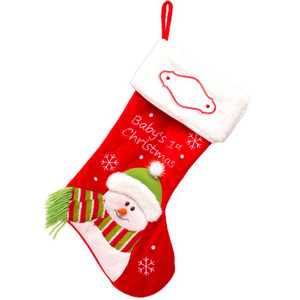 Baby's First Christmas Personalized Stocking